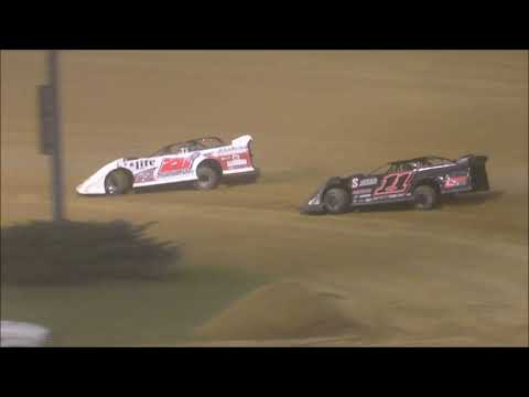 Super Late Model Feature from Lawrenceburg Speedway, July 6th, 2019.