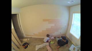 Spoonful Of Imagination: Plank Wall With Purebond