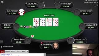 Daniel Negreanu Playing Online $100 Poker Tournament on Pokerstars 2017