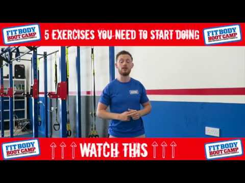 5 Exercises You have to Start Doing
