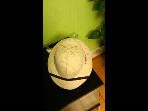 VU Meter Pith Helmet