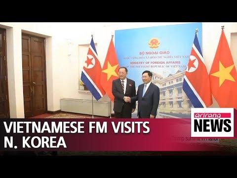 Vietnamese FM visits North Korea ahead of Kim-Trump summit