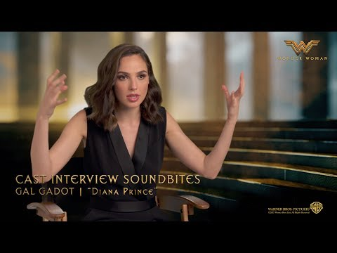 Wonder Woman [Cast Interview Soundbites: Gal Gadot | Diana Prince in HD (1080p)]
