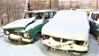 В Нижневартовске массово вывозят из дворов брошенные машины(, 2018-10-31T15:07:55.000Z)
