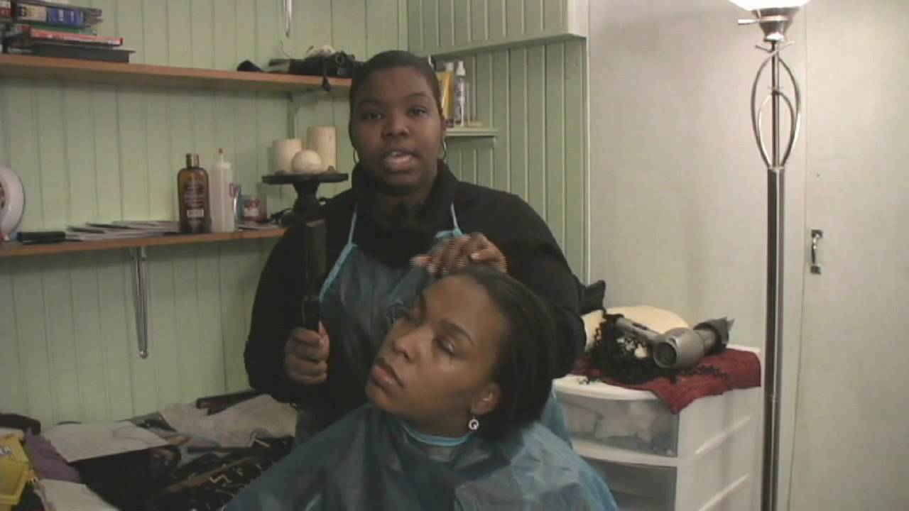 Caring For Black Hair How To Straighten African American