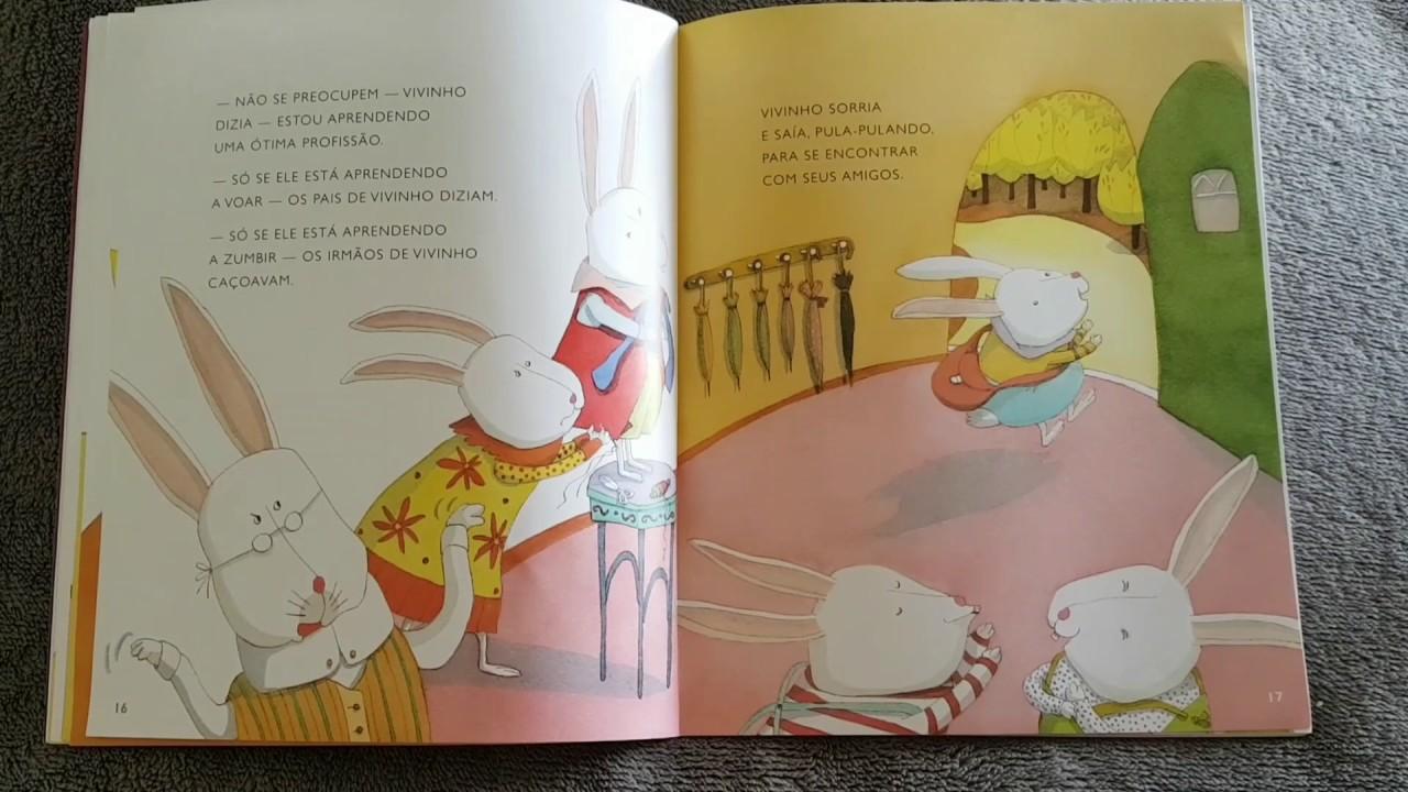 História infantil contada - O coelhinho que não era de Páscoa - Ruth Rocha 2ed45592b90