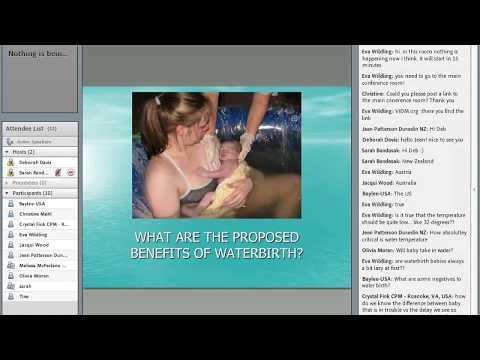 Workshop Waterbirth Deborah Davis Australia