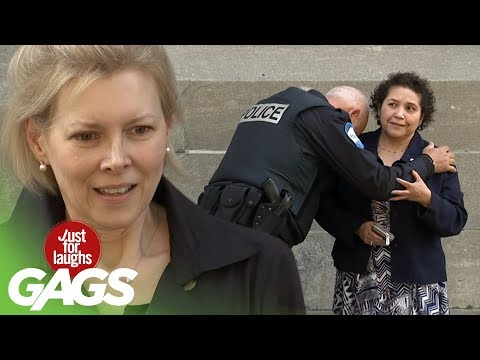 Desperate and Brokenhearted Cop Prank - Just For Laughs Gags