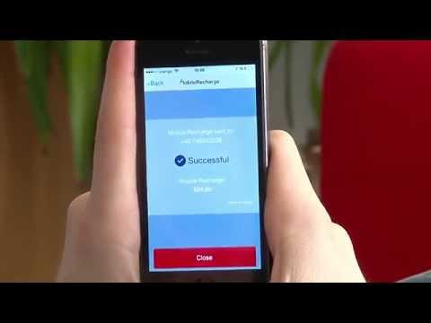 MobileRecharge - Top up mobiles with iOS App