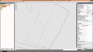 Видеоурок по подготовке графической части межевого плана в модуле