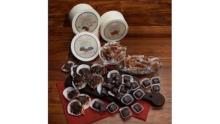 Silvestri Sweets Caramel Variety 3pk in Wood Container