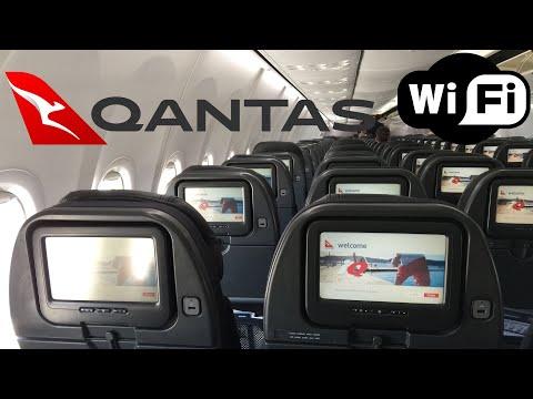 Qantas NEW Domestic: B737 Economy Class ADL-MEL (Wi-Fi onboard!)