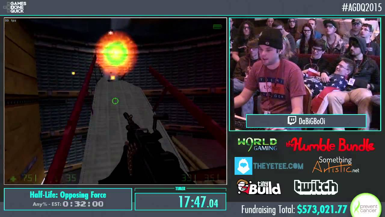 Awesome Games Done Quick 2015 Part 136 Half Life
