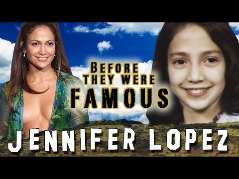 JENNIFER LOPEZ - Before They Were Famous