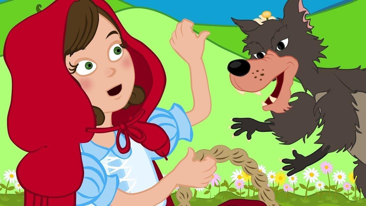 ذات الرداء الأحمر - قصص للأطفال - قصة قبل النوم للأطفال - رسوم متحركة