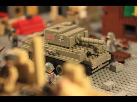 Lego ww2 stalingrad battle 2nd part лего вов мультфильм сталинград 2 серия
