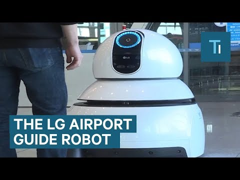 These Robots Could Be Coming To An Airport Near You