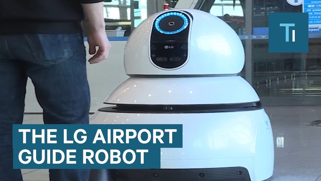 Robots Could Be Coming To An Airport Near You