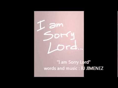 I am sorry Lord - RJ Jimenez