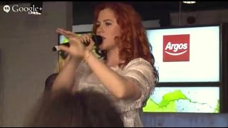 #argoslive with Katy B - an exclusive performance from our Old Street digital store