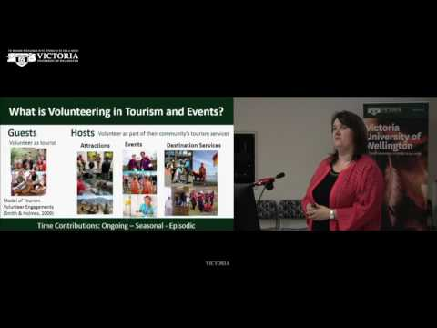 Volunteering Matters! Presented by Professor Karen Smith