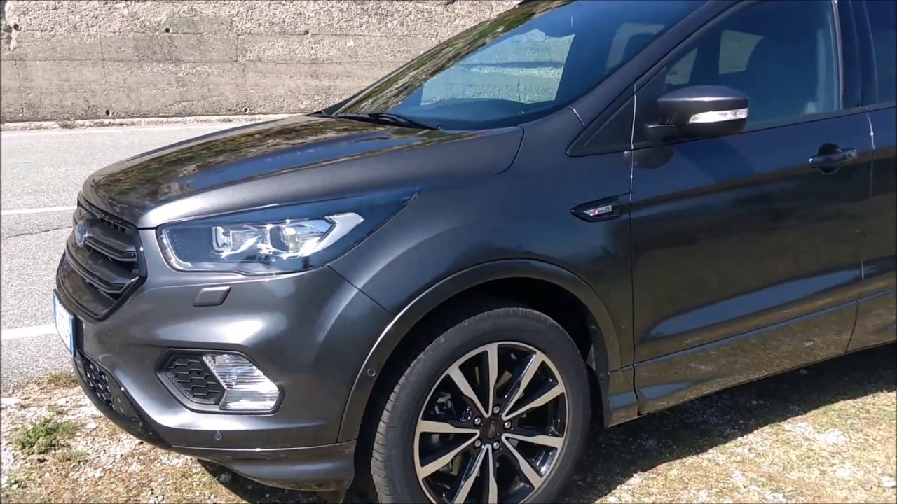 nuova ford kuga st line 2017 recensione review youtube
