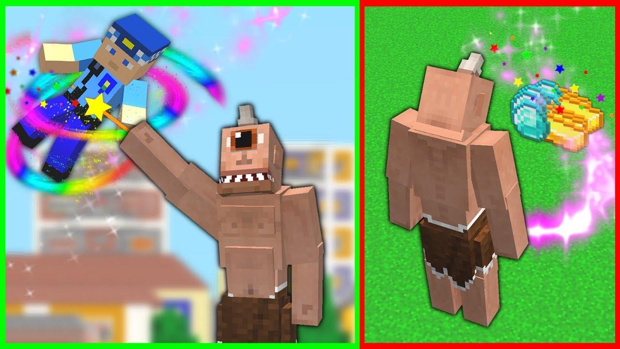 TEPEGÖZ'ÜN SİHİRLİ GÜÇLERİ OLURSA! 😱 - Minecraft
