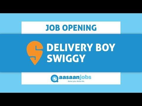 Swiggy   Delivery Executive   Video Job Description - YouTube