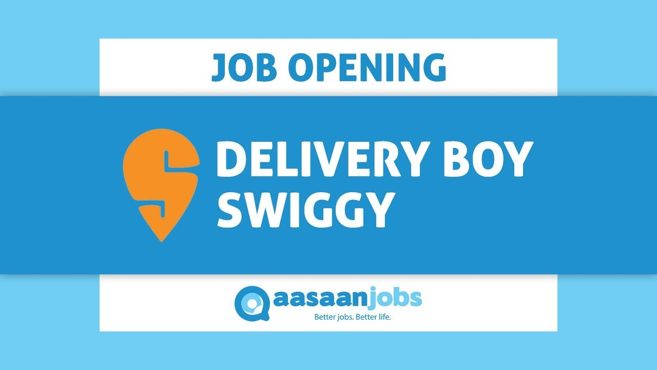 Swiggy | Delivery Executive | Video Job Description