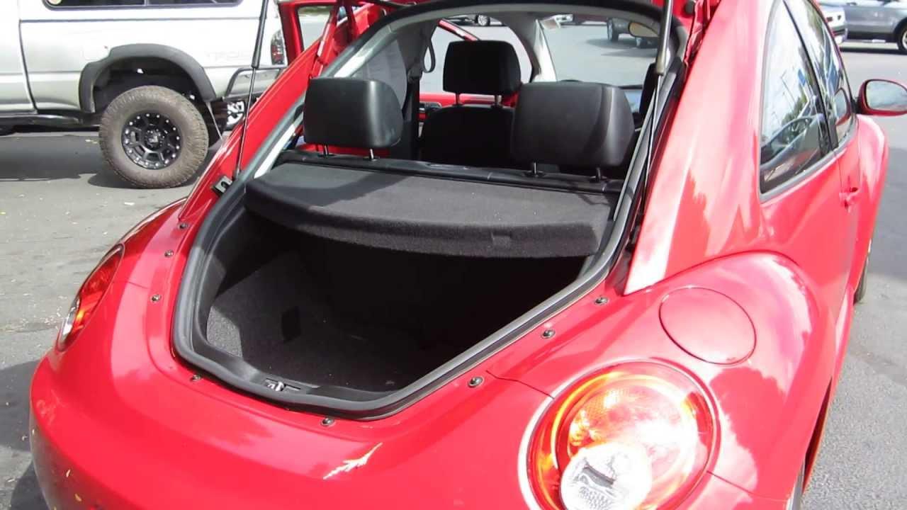 2006 Volkswagen Beetle Salsa Red