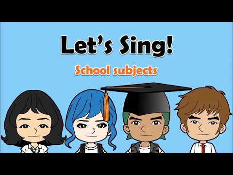 08 'School Subjects' Song  English on Tour
