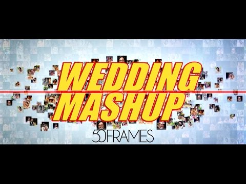 """"""" Wedding Mashup """" by Fifty Frames (a first time concept)"""
