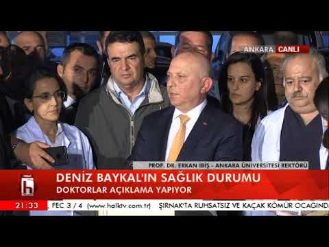 Deniz Baykal'ın sağlık durumuyla ilgili rektör Prof. Dr. İbiş'ten açıklama