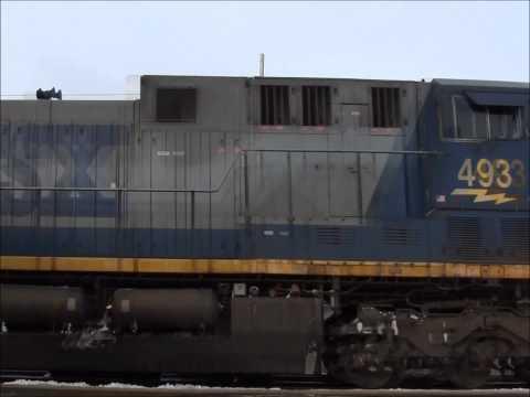 CSX Intermodal Freight in Buffalo-Depew,NY
