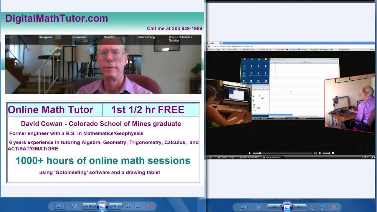 calculus tutoring online Chat with a tutor tutor get involved become a tutor tutor application tutor faqs represent tcl donate tutorchatlive is currently undergoing a reorganization we are working hard to make our site and organization stronger in order to help more students we hope to be back online soon.
