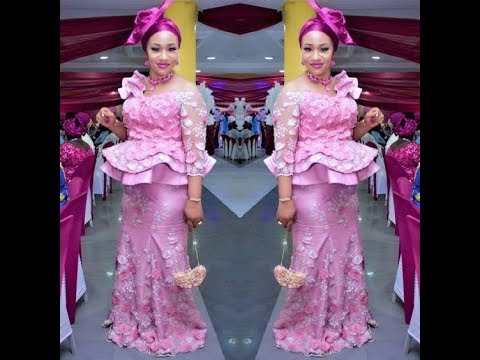 50+ Most Stylish And Amazing #African #Ankara / Lace Aso Ebi For Beautiful Ladies