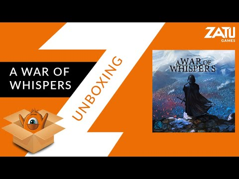 A War of Whispers Unboxing
