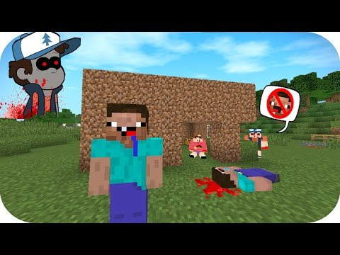 NOOB VS CREEPYPASTA CASA GRAVITY FALLS MINECRAFT TROLL + ROLEPLAY