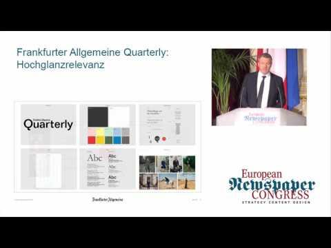 ENC17 Thomas Lindner - Frankfurter Allgemeine Quarterly: Hochglanzrelevanz