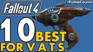 Top 10 Best Guns and Weapons for Vats in Fallout 4 Lowest Action Point Cost PumaCounts