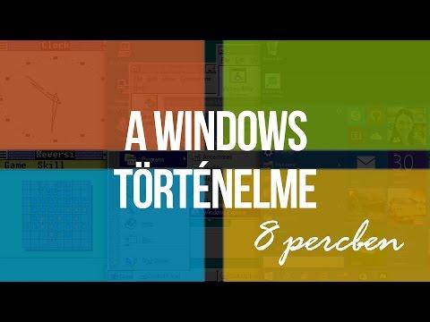 A Microsoft Windows történelme, 8 percben