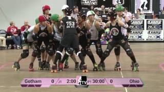 Gotham Girls Roller Derby v Ohio Roller Girls: WFTDA Championships 2013 in Milwaukee