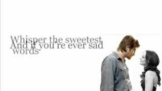 Leighton Meester ft Garrett Hedlund - Give In To Me w/lyrics on screen