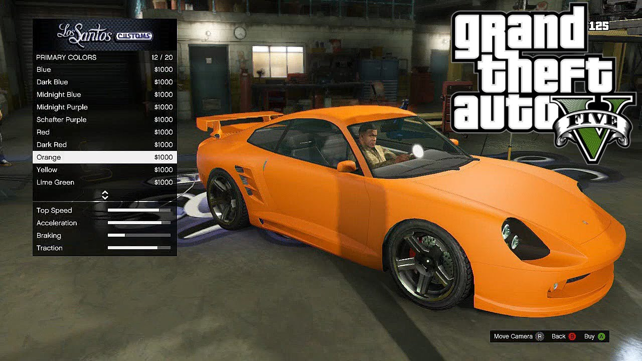 Gta V Best Luxury Cars