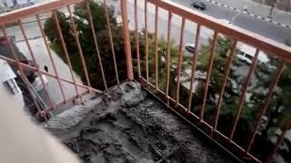 Ремонт балкона (усиление и восстановление балконной плиты)