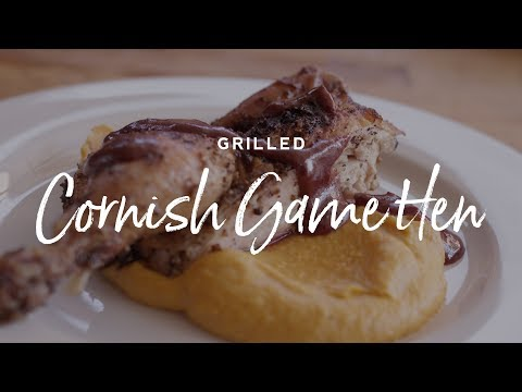 Grilled Cornish Game Hen