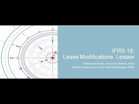 IFRS 16: Lease Modifications—Lessees