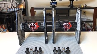 Lego's Tie Fighter VS. Lepin's Tie Fighter Comparison Review