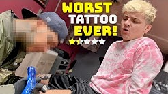 Getting A Tattoo From The Worst Reviewed Tattoo Shop In My City (1 STAR)