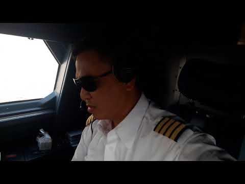 A330-343 Landing King Abdul Aziz Airport of JEDDAH